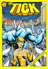 Cover Thumbnail for The Tick (New England Comics, 1988 series) #3 [Fourth Printing]