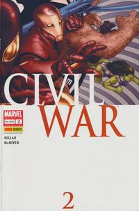 Cover Thumbnail for Civil War (Panini Deutschland, 2007 series) #2