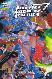 Cover Thumbnail for Justice Society of America (Panini Deutschland, 2007 series) #4 - Zwei Welten