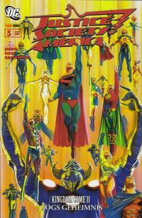 Cover Thumbnail for Justice Society of America (Panini Deutschland, 2007 series) #5 - Gogs Geheimnis