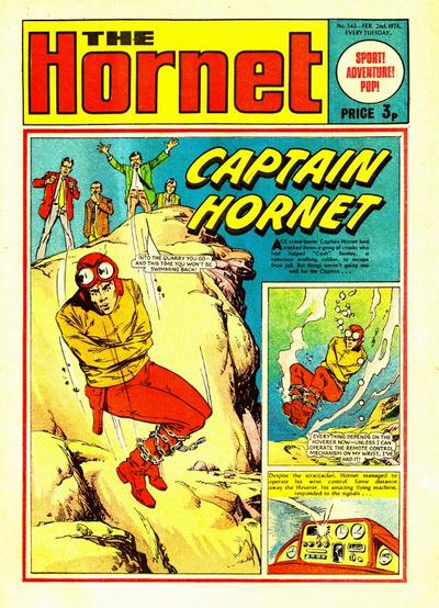 Cover for The Hornet (D.C. Thomson, 1963 series) #543