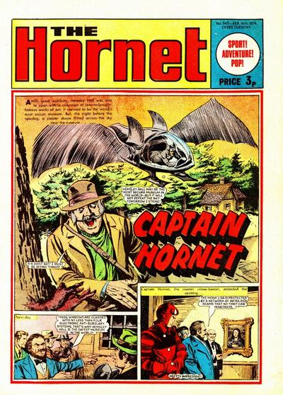 Cover for The Hornet (D.C. Thomson, 1963 series) #545