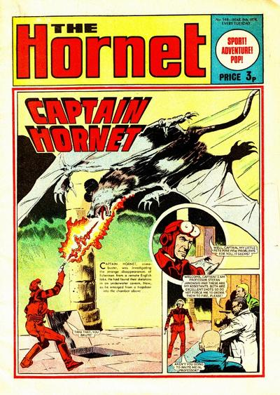 Cover for The Hornet (D.C. Thomson, 1963 series) #548