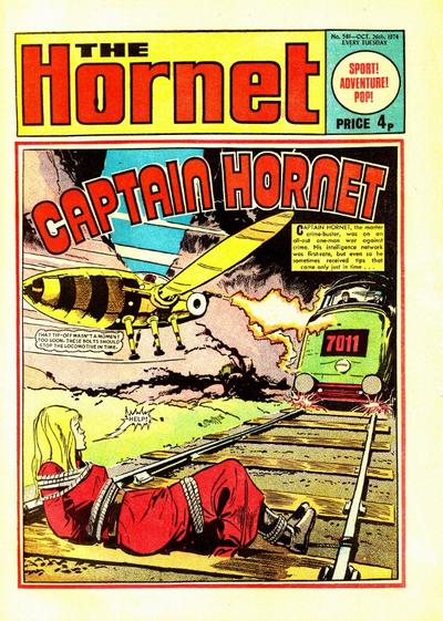 Cover for The Hornet (D.C. Thomson, 1963 series) #581