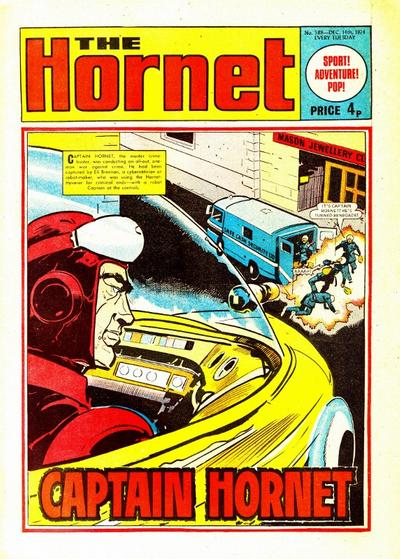 Cover for The Hornet (D.C. Thomson, 1963 series) #588