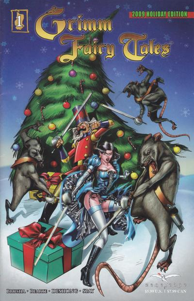 Cover for Grimm Fairy Tales Holiday Edition (Zenescope Entertainment, 2009 series) #1 [Cover A]