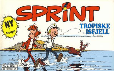 Cover for Sprint [tverrbok] (Semic, 1992 series) #1 - Tropiske isfjell
