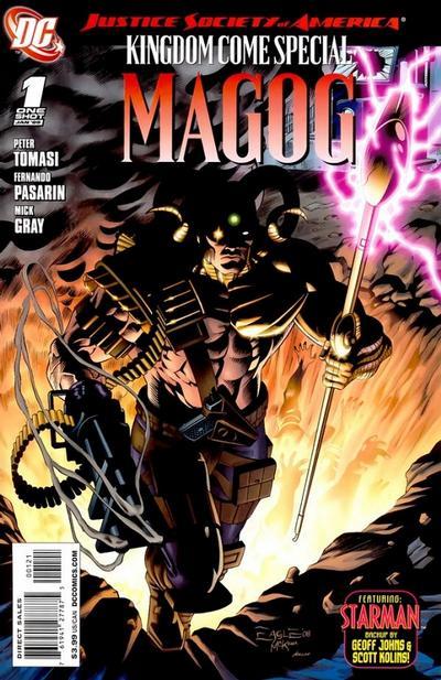 Cover for JSA Kingdom Come Special: Magog (DC, 2009 series) #1 [Dale Eaglesham / Mark McKenna Cover]