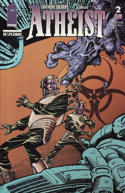 Cover for The Atheist (Image, 2005 series) #2