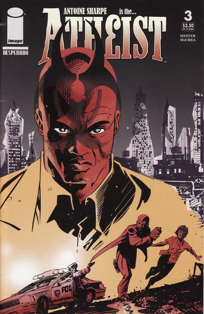 Cover for The Atheist (Image, 2005 series) #3