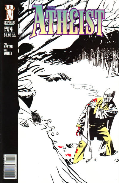 Cover for The Atheist (Image, 2005 series) #4