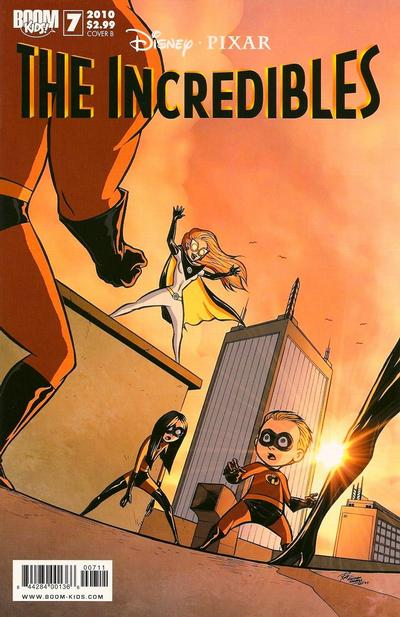 Cover for The Incredibles (Boom! Studios, 2009 series) #7 [Cover A]