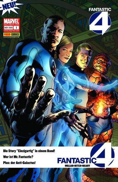Cover for Fantastic Four (Panini Deutschland, 2009 series) #1