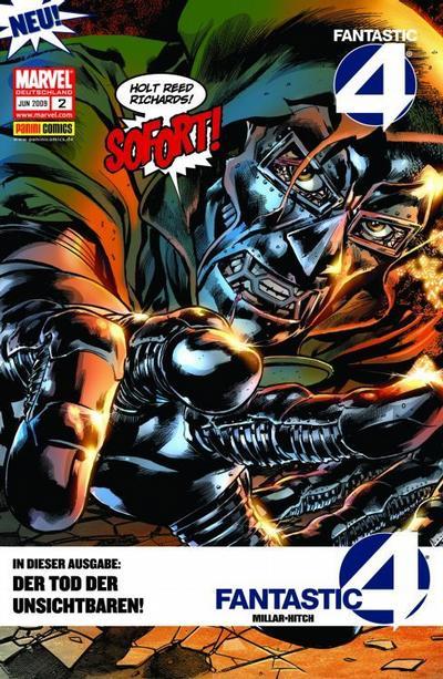 Cover for Fantastic Four (Panini Deutschland, 2009 series) #2
