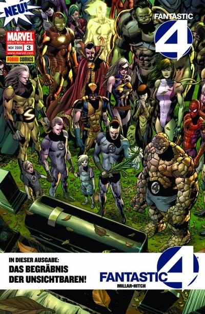 Cover for Fantastic Four (Panini Deutschland, 2009 series) #3