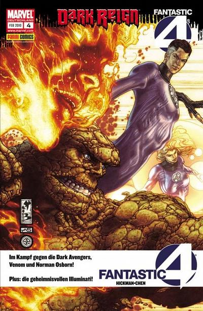 Cover for Fantastic Four (Panini Deutschland, 2009 series) #4