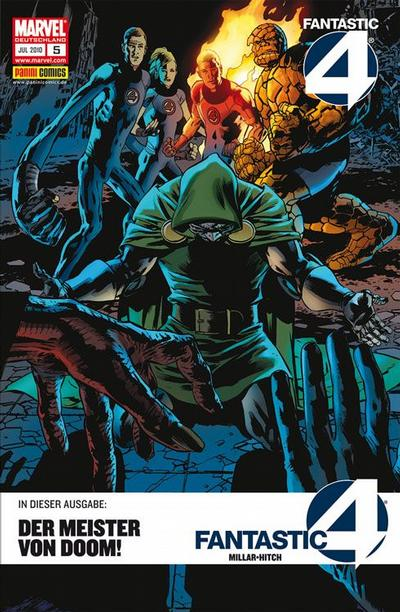 Cover for Fantastic Four (Panini Deutschland, 2009 series) #5