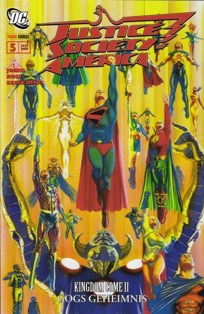 Cover for Justice Society of America (Panini Deutschland, 2007 series) #5 - Gogs Geheimnis
