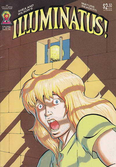Cover for Illuminatus (Rip Off Press, 1987 series) #1 [Eye-n-Apple Edition]