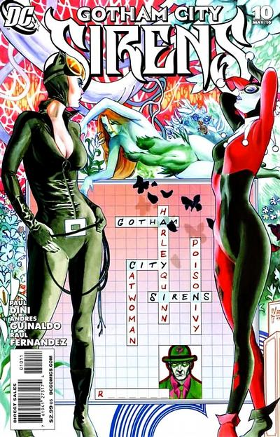 Cover for Gotham City Sirens (DC, 2009 series) #10