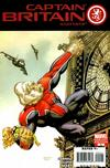 Cover for Captain Britain and MI: 13 (Marvel, 2008 series) #5 [Monkey Variant]