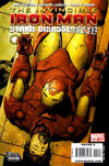 Cover for Invincible Iron Man (Marvel, 2008 series) #20 [Wraparound Variant Edition]