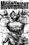 Cover Thumbnail for Vengeance of the Moon Knight (2009 series) #1 [Leinel Francis Yu Sketch Cover]