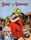 Cover for Spøk og Spenning (Oddvar Larsen; Odvar Lamer, 1950 series) #8/1950