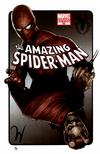 Cover Thumbnail for The Amazing Spider-Man (1999 series) #595 [Adi Granov Variant Cover]