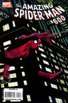 Cover for The Amazing Spider-Man (Marvel, 1999 series) #600 [John Romita Jr. Regular Wraparound Cover]