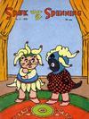 Cover for Spøk og Spenning (Oddvar Larsen; Odvar Lamer, 1950 series) #5/1951