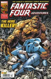 Cover Thumbnail for Fantastic Four Adventures (Panini UK, 2010 series) #3