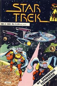 Cover Thumbnail for Star Trek (Atlantic Forlag, 1981 series) #2/1981