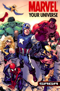 Cover Thumbnail for Marvel: Your Universe Saga (Marvel, 2008 series)