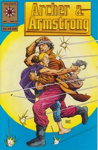 Cover Thumbnail for Archer & Armstrong (Acclaim / Valiant, 1992 series) #0 [Gold Logo Cover]