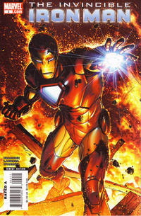 Cover Thumbnail for Invincible Iron Man (Marvel, 2008 series) #2 [Brandon Peterson Variant Cover]