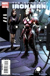 Cover Thumbnail for Invincible Iron Man (Marvel, 2008 series) #10 [Second Printing]