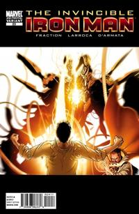 Cover Thumbnail for Invincible Iron Man (Marvel, 2008 series) #23 [Second Printing]