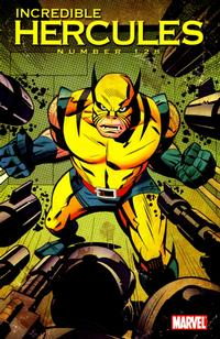 Cover Thumbnail for Incredible Hercules (Marvel, 2008 series) #128 [Wolverine Art Appreciation Variant Edition]