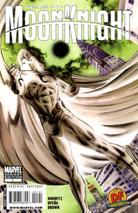 Cover Thumbnail for Vengeance of the Moon Knight (Marvel, 2009 series) #1 [Dynamic Forces Negative Art - Alex Ross]