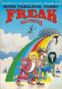 Cover Thumbnail for The Best of The Rip Off Press (Rip Off Press, 1973 series) #4 - More Fabulous Furry Freak Brothers