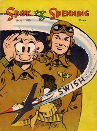 Cover Thumbnail for Spøk og Spenning (Oddvar Larsen; Odvar Lamer, 1950 series) #6/1950