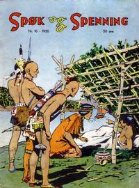 Cover Thumbnail for Spøk og Spenning (Oddvar Larsen; Odvar Lamer, 1950 series) #10/1950