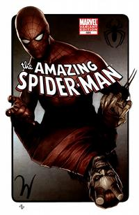 Cover Thumbnail for The Amazing Spider-Man (Marvel, 1999 series) #595 [Adi Granov Variant Cover]