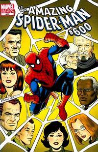 Cover Thumbnail for The Amazing Spider-Man (Marvel, 1999 series) #600 [John Romita Sr. Variant Cover]
