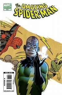 Cover Thumbnail for The Amazing Spider-Man (Marvel, 1999 series) #613 [Joe Quinones Villain Variant Cover]
