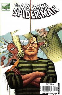 Cover Thumbnail for The Amazing Spider-Man (Marvel, 1999 series) #615 [Joe Quinones Villain Variant Cover]