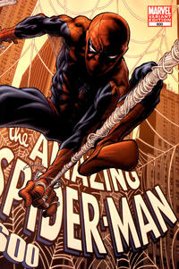 Cover Thumbnail for The Amazing Spider-Man (Marvel, 1999 series) #600 [Joe Quesada Wraparound Variant Cover]