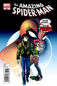 Cover Thumbnail for The Amazing Spider-Man (Marvel, 1999 series) #624 [You're Fired Variant Cover]