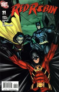 Cover Thumbnail for Red Robin (DC, 2009 series) #11